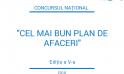 """Concursul National """"Cel mai bun plan de afaceri"""", ediția a V-a 2018"""