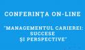 """Conferința on-line cu tema """"Managementul carierei: succese și perspective""""."""